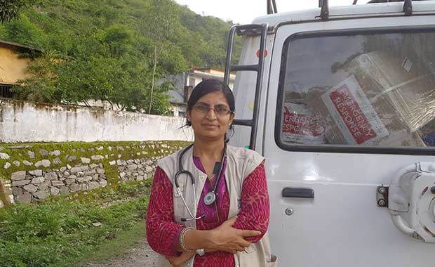 Americares India mobile medical center