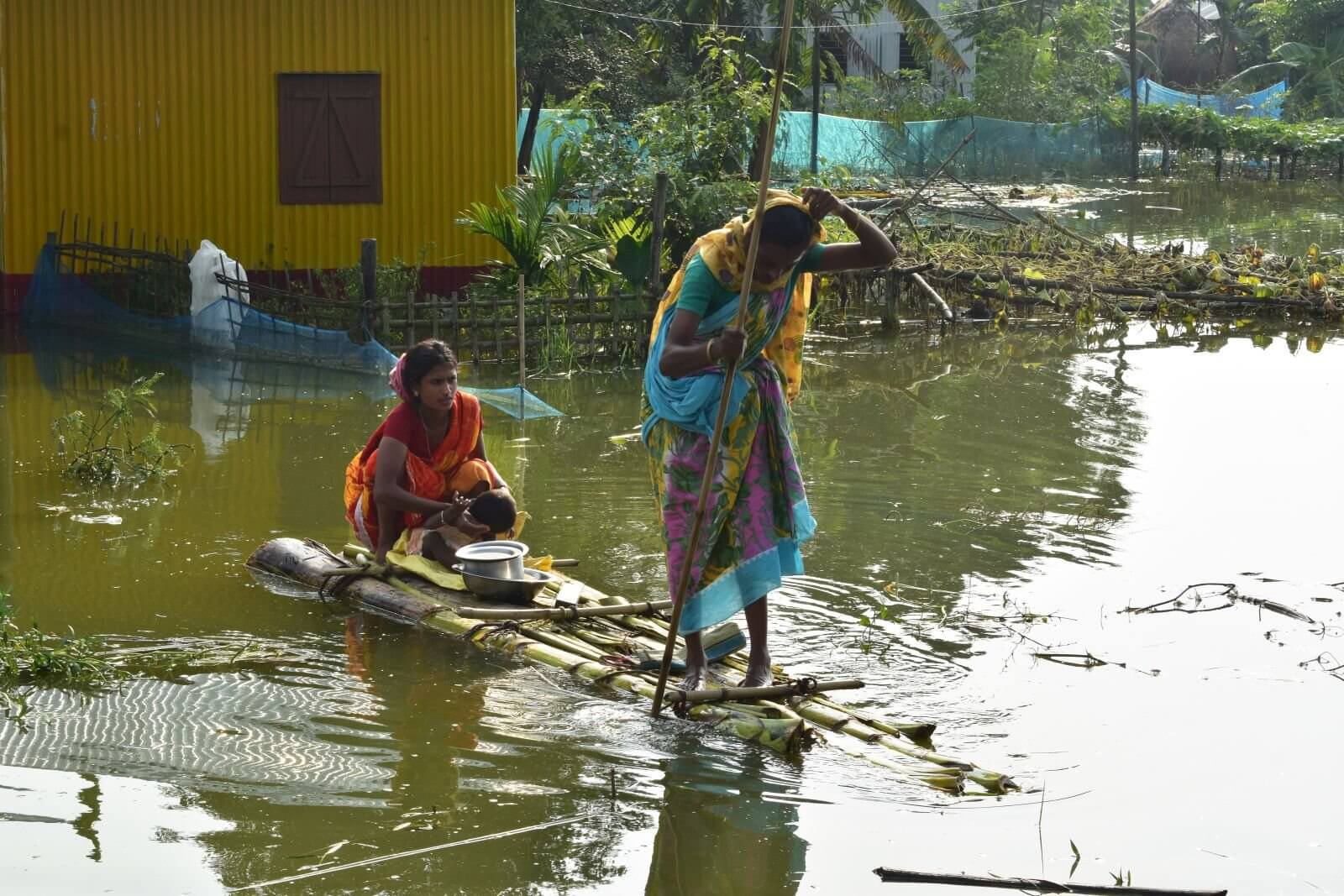 Americares India Responding to Floods in Assam & Bihar